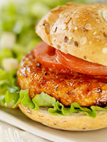 6 Tips For a Juicy, Healthy Chicken Burger